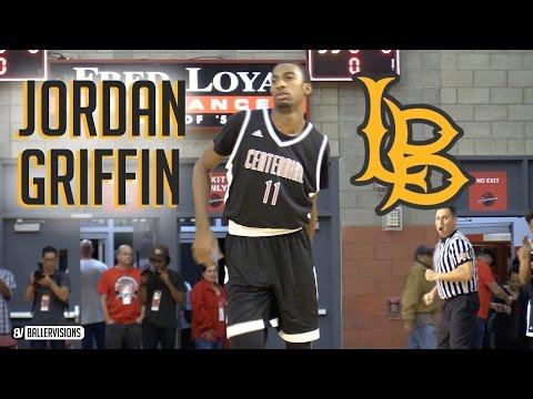 Jordan Griffin is a Natural Scorer! High School Senior Highlights | Long Beach State Guard