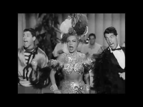 Carmen Miranda, Dean Martin e Jerry Lewis Bongo Bingo