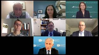 A Virtual Lunchtime Conversation With Anthony S. Fauci, MD