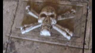 Cripta With Human Skull And Bones Inside Castle Dating 1330