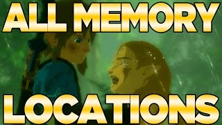 All Memory Locations in Breath of the Wild - Captured Memories | Austin John Plays