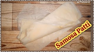 Samosa Patti At Home by @Always Creative