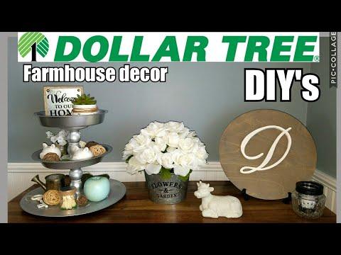 Dollar Tree Farmhouse DIY's/3 Tiered Tray