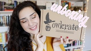 OwlCrate Unboxing | Head Over Heels