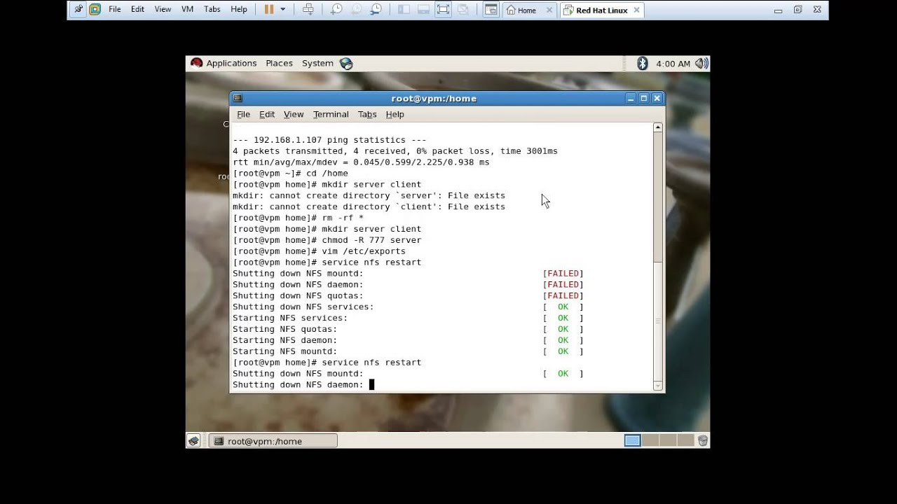 How to Install and Configure NFS Server on Linux