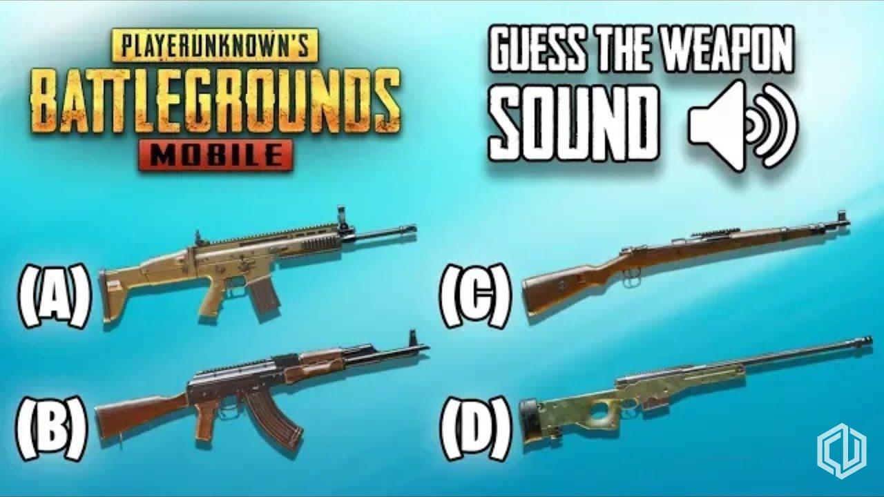 Guess The Gun Name Pubg Mobile Youtube