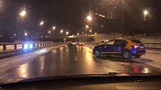 Массовое ДТП на Боровском шоссе (16 машин) 26.12.18