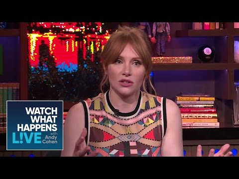 Bryce Dallas Howard Talks Replacing 'Twilight' Actor Rachelle Lefevre  FBF  WWHL