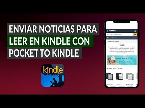 Cómo Enviar Noticias y Artículos para Leer en Kindle con Pocket to Kindle