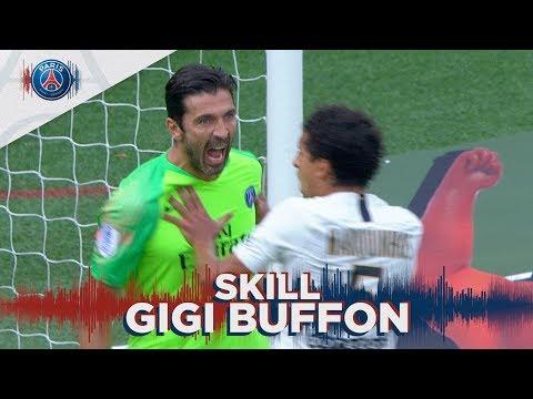 SKILL / GESTE TECHNIQUE : GIGI BUFFON AMAZING SAVE - GUINGAMP vs PARIS SAINT-GERMAIN
