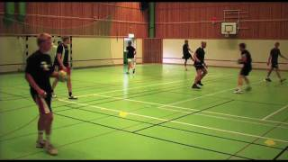 Handball training in Åhus Sweden