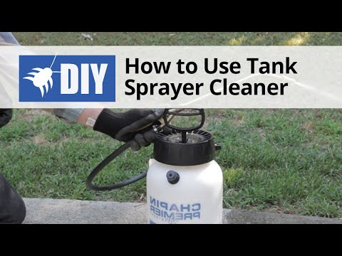 How to Use Sprayer Cleaner to Clean Tank Sprayers