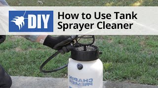 How to Use Sprayer Cleaner