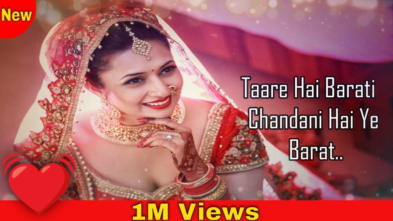 Download Tare Hai Barati Chandni Hai Barat   Kumar Sanu, Jaspinder Narula   Virasat 1997 Songs   Anil Kapoor