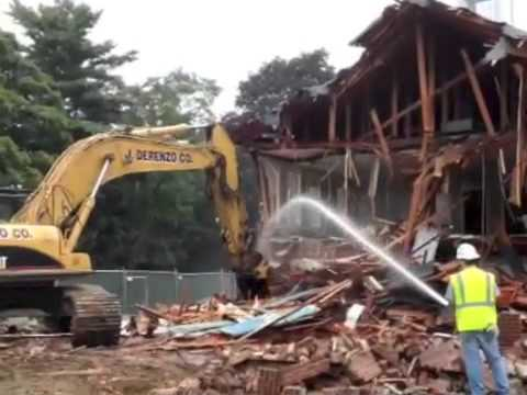 Belmont Hill School Howe Building Demolition