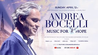 Baixar Andrea Bocelli  Easter Gift     Music of Hope