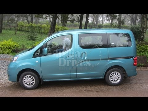 2012 Nissan Evalia Interior, Exterior Video Review