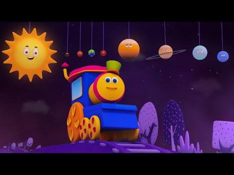 Паровозик Боб – Песня про планеты / Путешествие по планетам с Бобом / Космическое путешествие