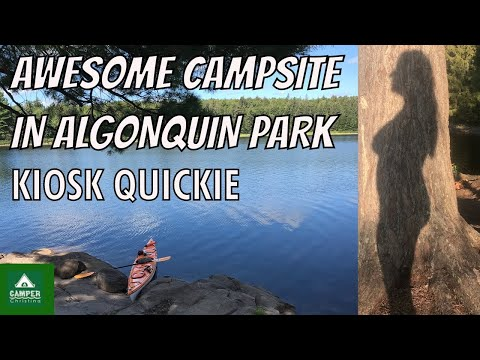Awesome Campsite In Algonquin Park | Kiosk Quickie