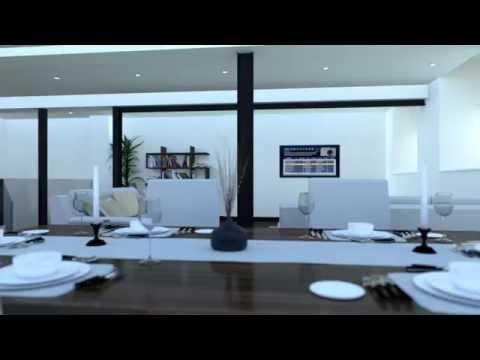 CGI Animated living room