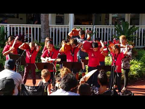 Performance by Koloa Elementary School at The Shops at Kukuiula_1 of 2