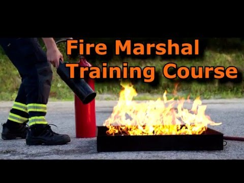 Fire Marshal Training in the UK Learn online!
