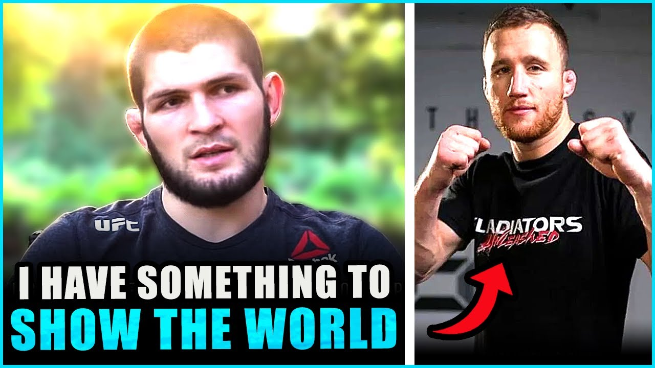 """Khabib RESPONDS to Justin Gaethje saying he will create """"Car Crashes"""" in their fight, Colby vs Tyron"""