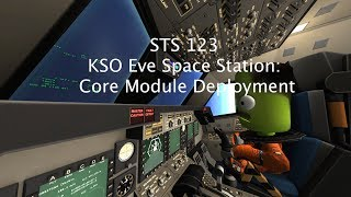 Kerbal Space Program: KSO Shuttle Missions: STS 123