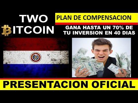 TWO BITCOIN PARAGUAY - Gana hasta el 70% de tu inversión en 40 días! - BITCOIN - FOREX