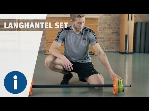 Video: Sport-Thieme® Langhantel-Set