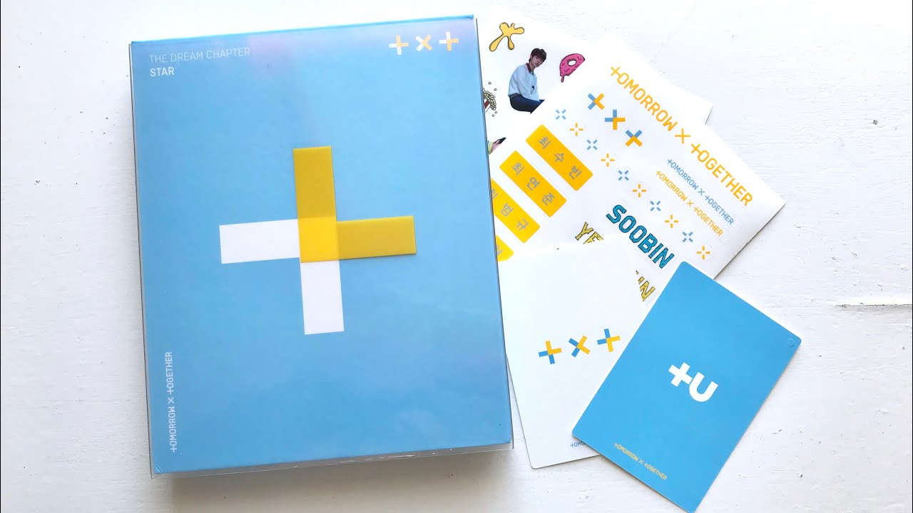 Txt Tomorrow X Together The Dream Chapter Star Album Unboxing