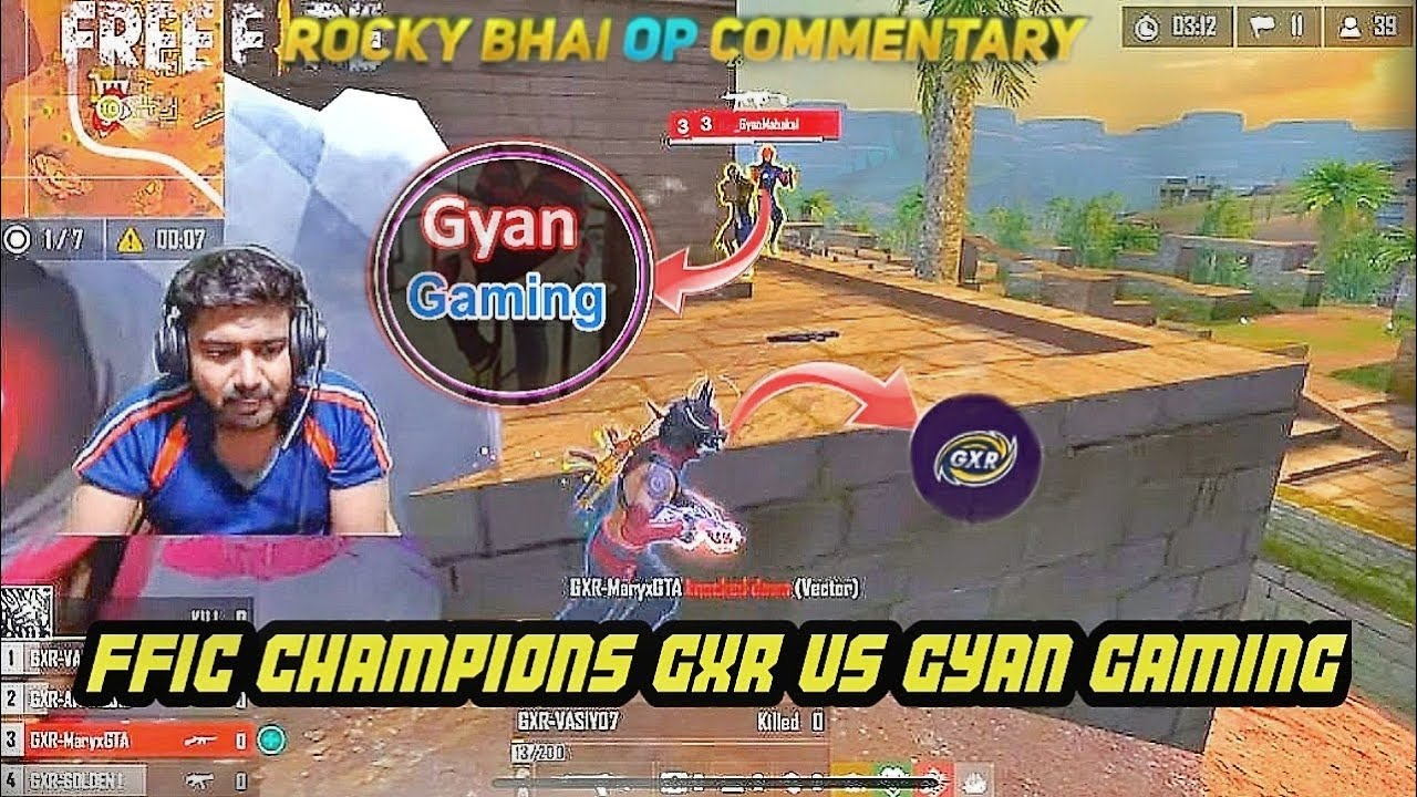 Gyan Gaming Op Performance Against FFIC Champions GXR Vasiyo Team 🙀|| Tournament Highlights ❤️ ||