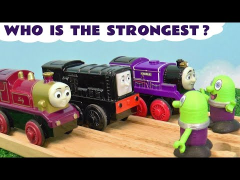Toy Train Thomas and Friends Strongest Engine with the Funlings