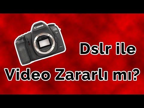 Dslr ile Video Çekmek Makinenizi BOZUYOR mu?