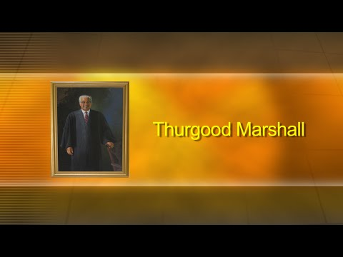 Black American Experience   Thurgood Marshall