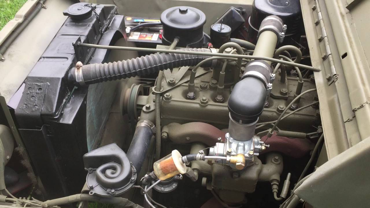 1947 Willys Jeep CJ2A chassis, engine, and running gear (b ... |Jeep Cj2a Engines
