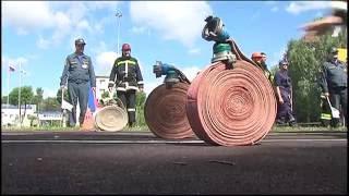 Соревнования среди добровольных пожарных дружин. АО