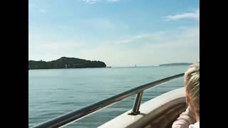 Пхукет. Таиланд. Июнь 2017. Морская Прогулка на катере. Экскурсия на Пхукете