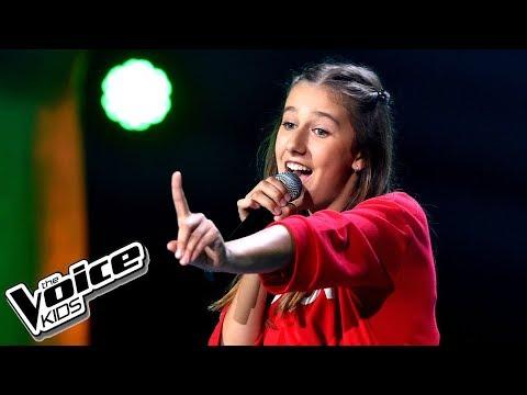 """Alicja Dziurdziak – """"Pożyczony"""" – Przesłuchania w ciemno – The Voice Kids Poland"""