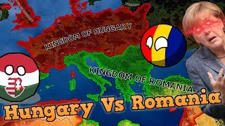 HUNGARY VS ROMANIA - Who would win? (Hearts Of Iron 4 / HOI4)