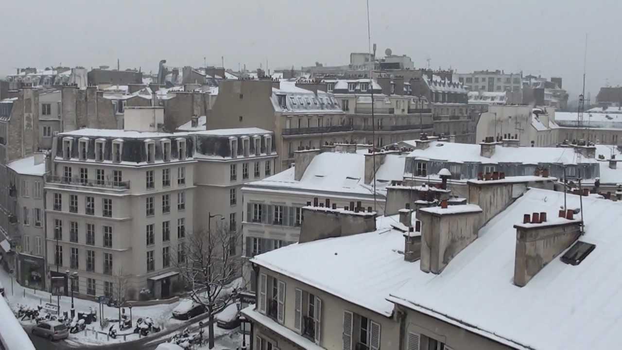 France sous la neige sur seine vers for Piscine neuilly sur seine horaires