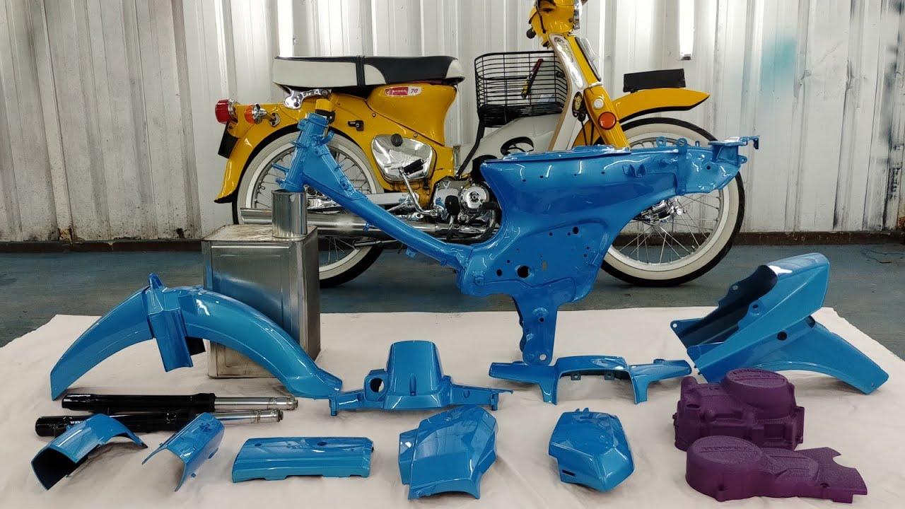 Spray 2k/honda Ex5 Blue pearl