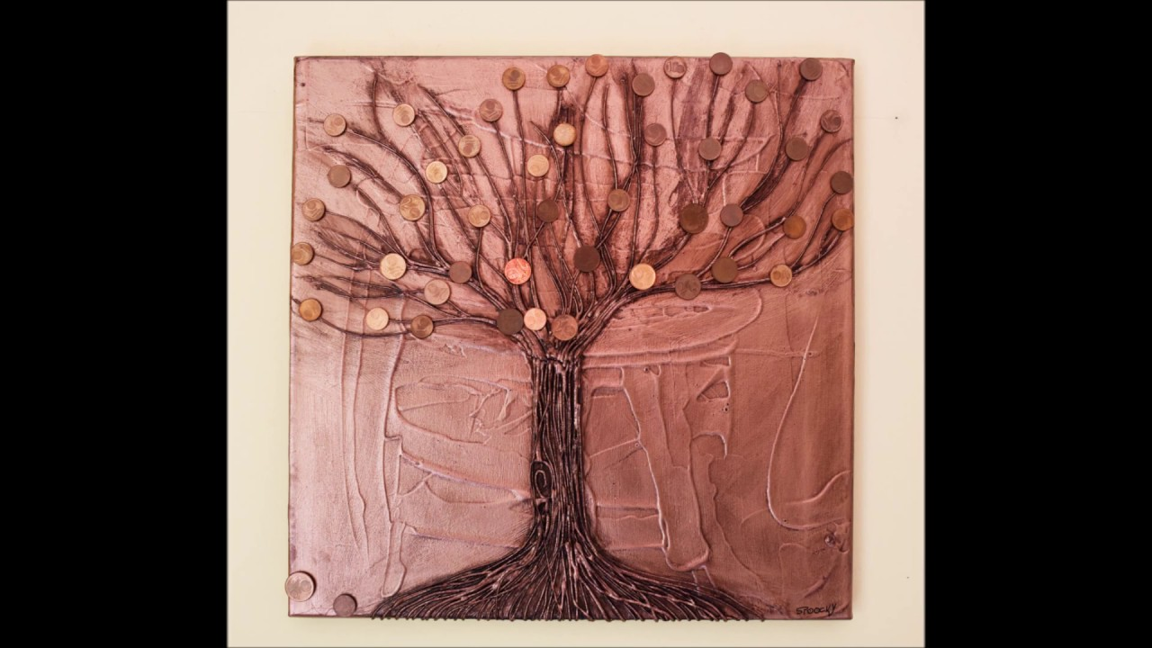 Peinture Contemporaine Artiste Belge Tree Of Money Youtube