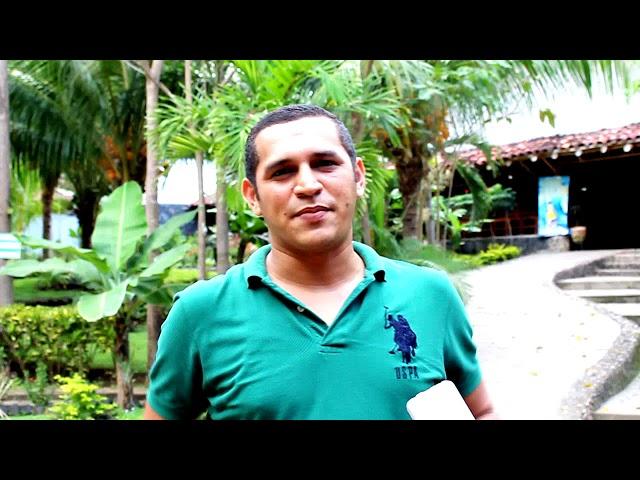 Un saludo desde la Isla de Ometepe
