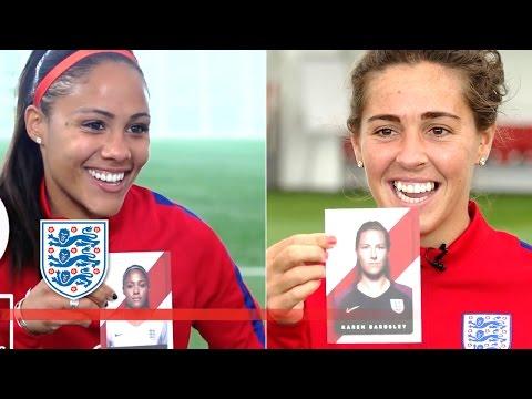 Guess the Lioness - Team Fara Williams & Alex Scott | Who's Who