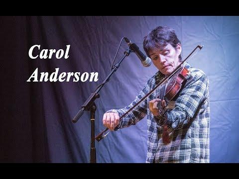 Carol Anderson  at Falkland Traditional Music Festival 2017