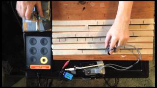Tape scratching meets guitar looping