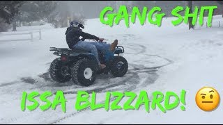 Me Vs Snow Storm
