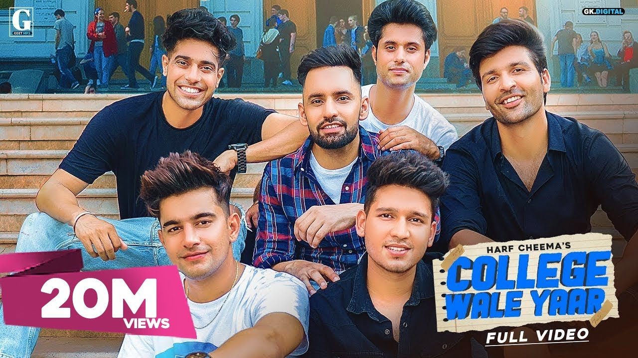College Wale Yaar Harf Cheema Mp3 Punjabi Audio Song 2020 Free Download