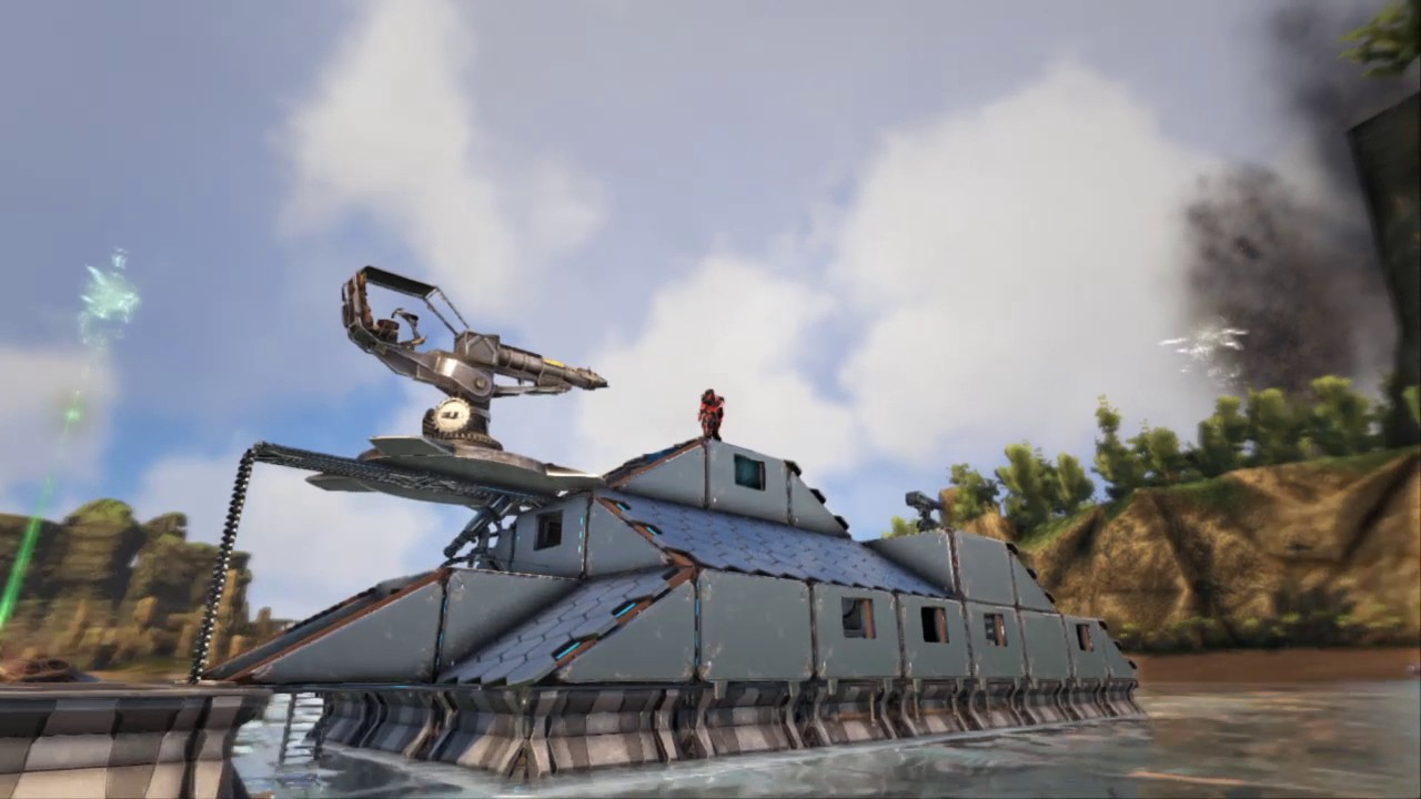Ark motorboat build #2